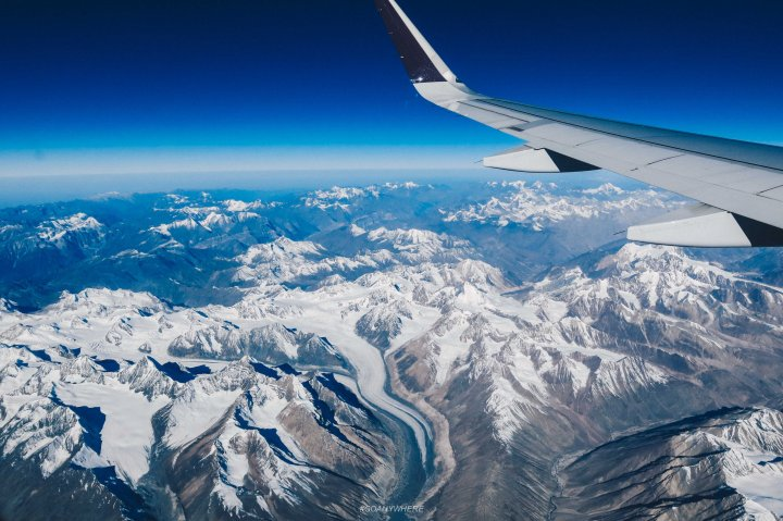 Leh LadakhIMG_7146 - air view