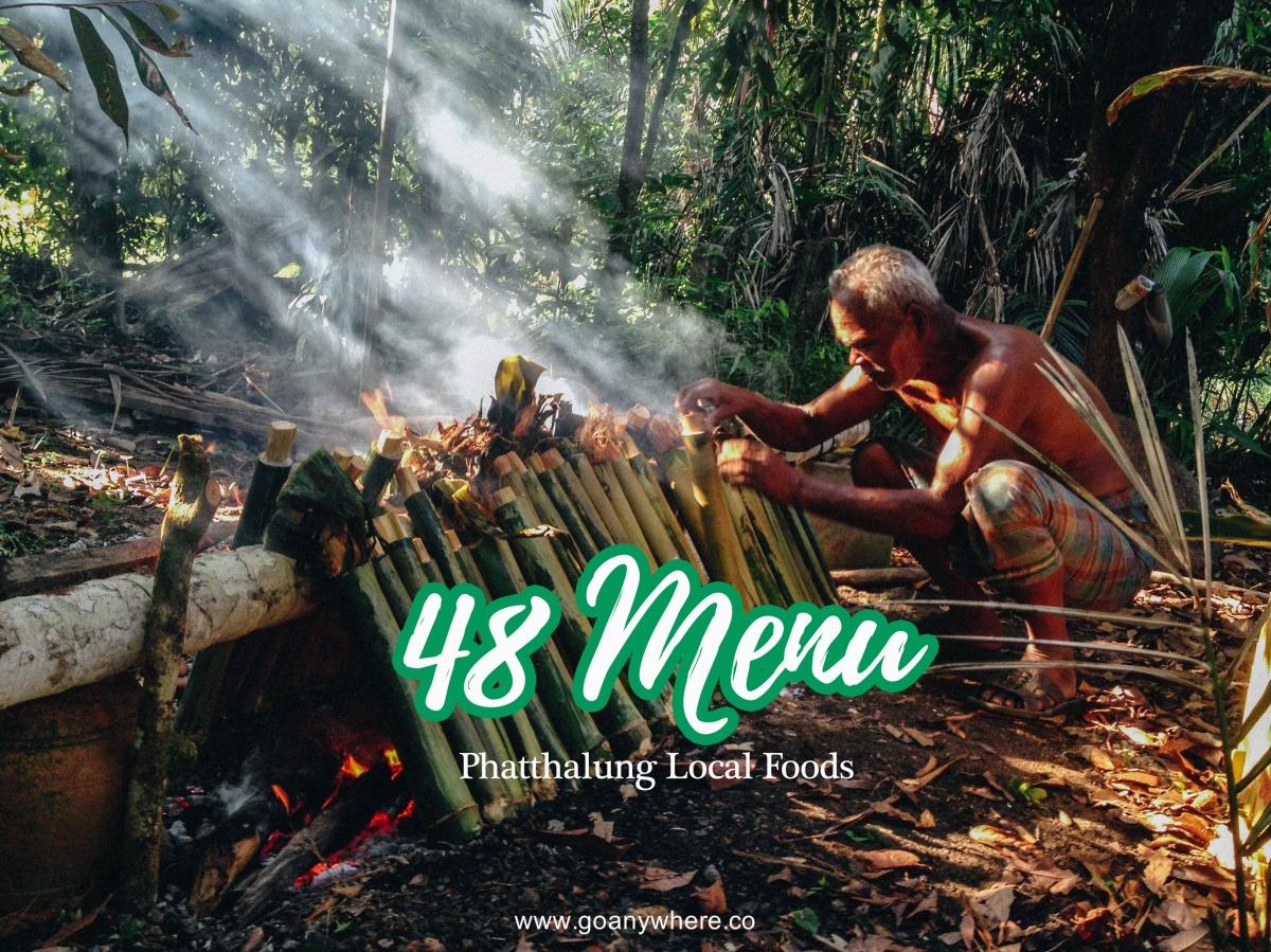 48 อาหารบ้านๆแต่อร่อยถึงทรวง ณ เมืองพัทลุง ( phatthalung local foods)