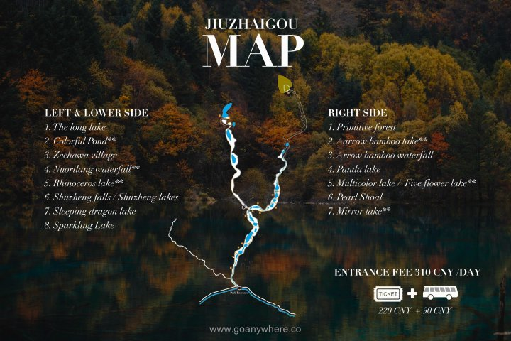 Map - Jiuzhaigou-ChinaIMG_map