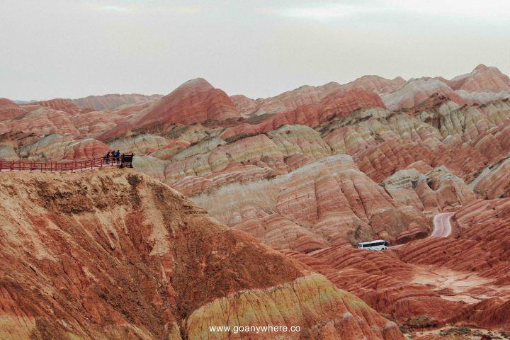 Bingou-rainbow mountain-zhangye-Xian-ซีอาน-จีน-ภูเขาสีรุ้ง-china-จางเย่-IMG_4628