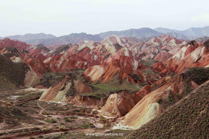 Bingou-rainbow mountain-zhangye-Xian-ซีอาน-จีน-ภูเขาสีรุ้ง-china-จางเย่-IMG_4763
