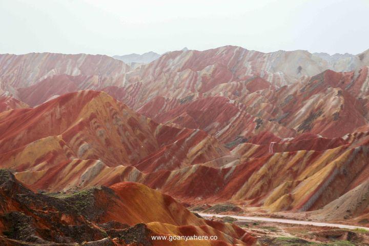 Bingou-rainbow mountain-zhangye-Xian-ซีอาน-จีน-ภูเขาสีรุ้ง-china-จางเย่-IMG_4836