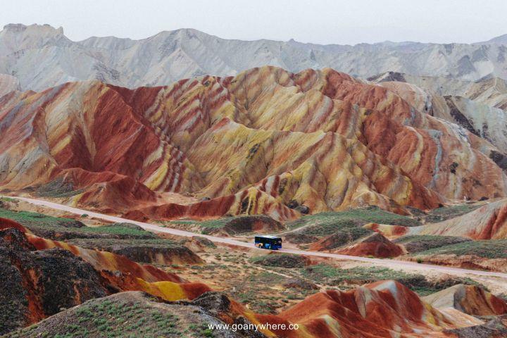 Bingou-rainbow mountain-zhangye-Xian-ซีอาน-จีน-ภูเขาสีรุ้ง-china-จางเย่-IMG_4913