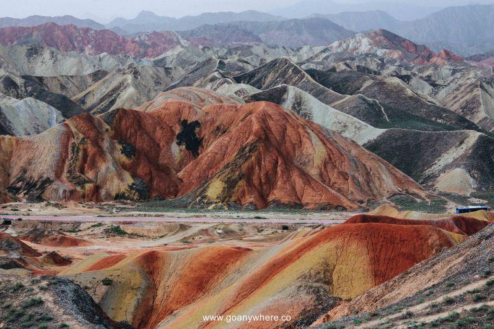 Bingou-rainbow mountain-zhangye-Xian-ซีอาน-จีน-ภูเขาสีรุ้ง-china-จางเย่-IMG_4919