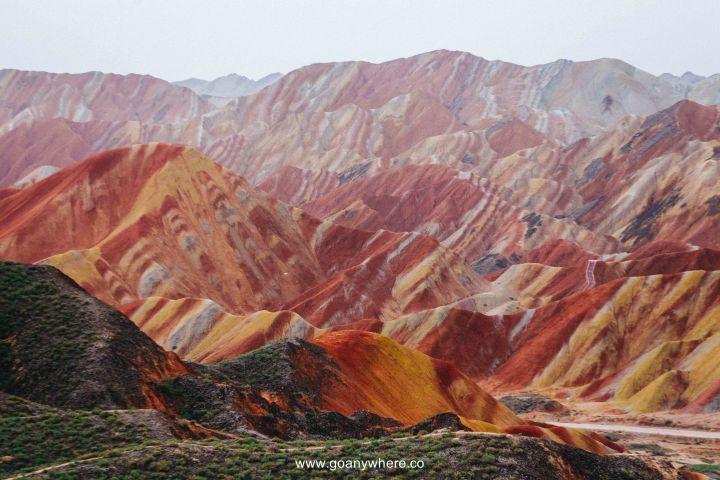 Bingou-rainbow mountain-zhangye-Xian-ซีอาน-จีน-ภูเขาสีรุ้ง-china-จางเย่-IMG_4920