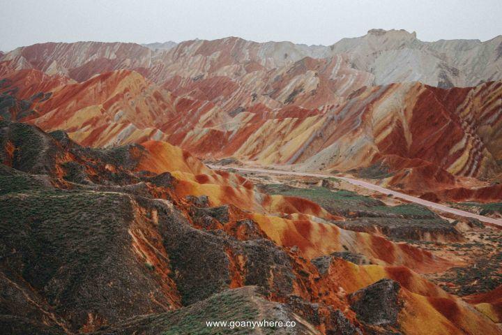 Bingou-rainbow mountain-zhangye-Xian-ซีอาน-จีน-ภูเขาสีรุ้ง-china-จางเย่-IMG_5024