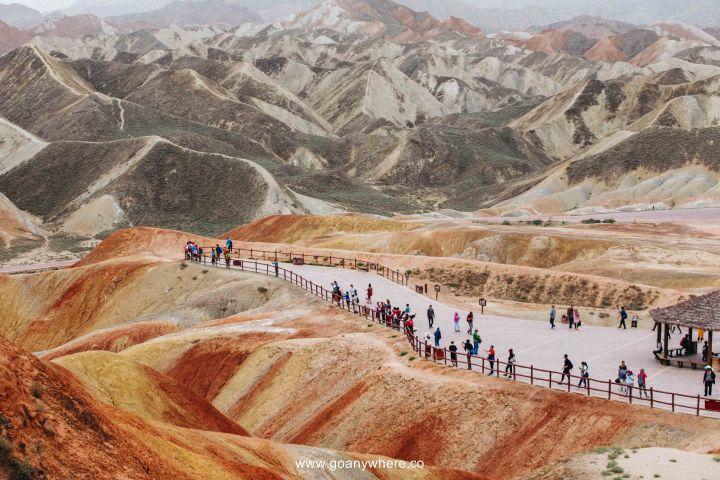 Bingou-rainbow mountain-zhangye-Xian-ซีอาน-จีน-ภูเขาสีรุ้ง-china-จางเย่-IMG_5056