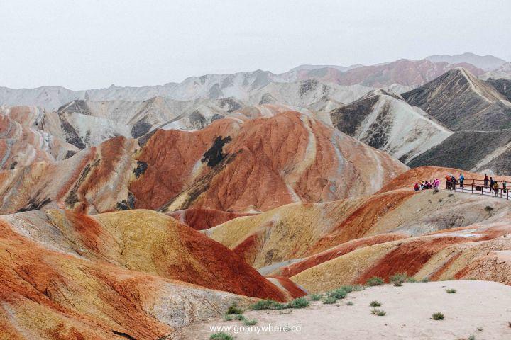 Bingou-rainbow mountain-zhangye-Xian-ซีอาน-จีน-ภูเขาสีรุ้ง-china-จางเย่-IMG_5065