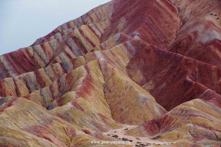 Bingou-rainbow mountain-zhangye-Xian-ซีอาน-จีน-ภูเขาสีรุ้ง-china-จางเย่-IMG_5125