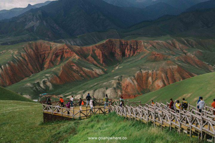 Bingou-rainbow mountain-zhangye-Xian-ซีอาน-จีน-ภูเขาสีรุ้ง-china-จางเย่-IMG_6480